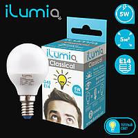 Ilumia LED  G-45 / 5 Вт / 3000К (теплый белый) (014)