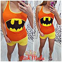 Летняя пижама с бэтменом майка и шорты Турция