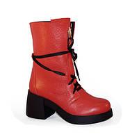 Ботинки женские кожаные в Украине. Сравнить цены 60c25756fac18