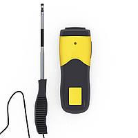Термоанемометр Trotec TA300 (0.1-25m/s; 0-50ºC; 0-999900m3/min), USB, Сертификат калибровки. Германия