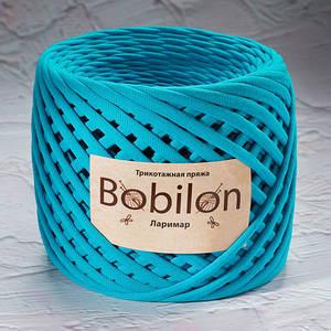 Трикотажная пряжа Bobilon Medium (7-9мм). Ларимар