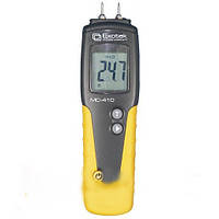 Влагомер древесины Exotek MC-410 (6-99%; -35...+80°C) с выносным датчиком температуры и влажности. Германия