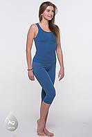 Антицеллюлитные шорты (капри) для похудения СzSalus (Италия) для фитнеса.