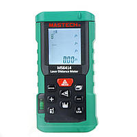 Лазерный дальномер ( лазерная рулетка ) Mastech MS6414 (0,046-40 м) проводит измерения V, S, H, память 99