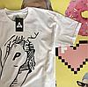Palace белая мужская футболка • Сочные фотки • Правильные бирки, фото 2