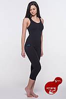 Антицеллюлитные термо-бриджи  Bio-Fir emana® для похудения, для фитнеса для похудения, для фитнеса черные