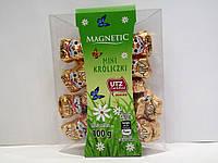 Шоколадные фигурки Magnetic мини кролики 100г, фото 1