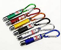 Современно-популярный брелок 3в1 лазерная указка+фонарик+ультрафиолет, фото 1