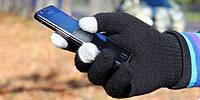 Перчатки для сенсорных экранов (Черный)