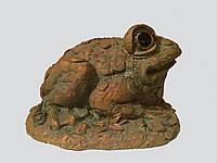 """Фигурка """"Лягушка""""- декоративная фигурка для сада."""