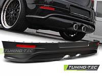 Юбка накладка на задний бампер тюнинг обвес VW Golf 5 в стиле R32