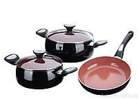 Набор посуды Terracotta 5 пред. Granchio 88129