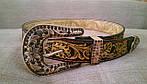 Кожаный женский ремень ручной работы 507, фото 2