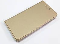 Чехол книжка KiwiS для Xiaomi Redmi Note 4x золотой