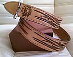 Кожаный ремень ручной работы 508, фото 4