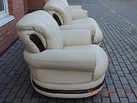 Кожаный диван + 2 кресла PALERMO,кожаная мебель,шкіряні меблі