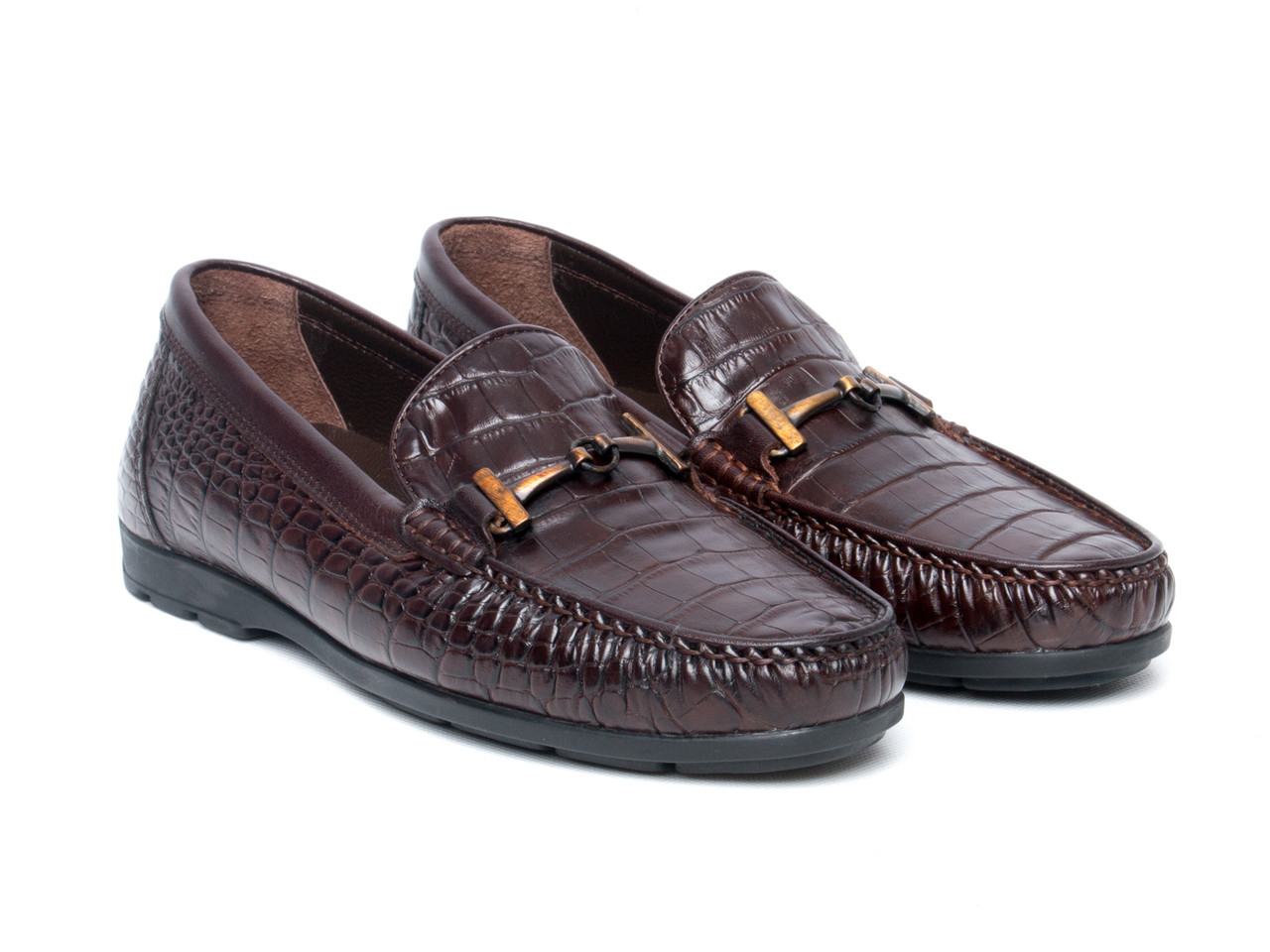Мокасины Etor 14445-7383-008 45 коричневые