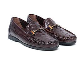 Мокасини Etor 14445-7383-008 коричневі