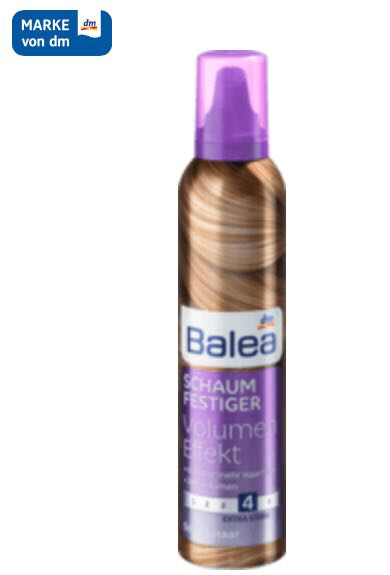 Пена для волос объем Balea Power Volume Mousse 250 мл