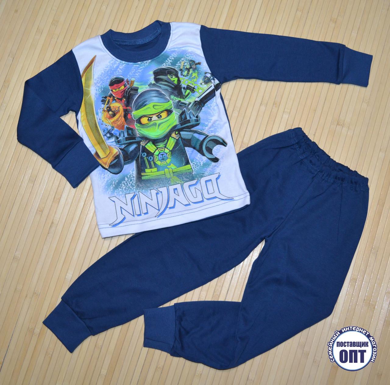Пижама нинзяги размеры на 2-7 лет