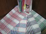 """Набір бавовняних кухонних рушників """"Клітка"""" 4 шт. 33х57 см, фото 3"""