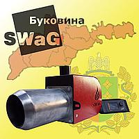 Факельний пелетний пальник 100 кВт