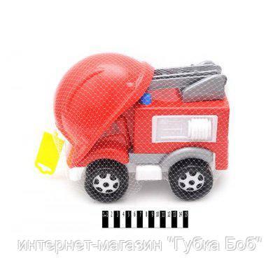 Пожарная машина с каской Технок (50/20 см)