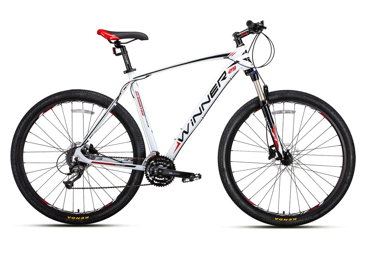 """Горный велосипед WINNER GLADIATOR 29"""" 20"""" Бело-Красный 2018"""