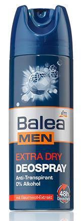 Дезодорант-спрей Balea men deospray Extra Dry 200мл, фото 2