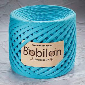 Трикотажная пряжа Bobilon Maxi (9-11мм) Бирюзовый