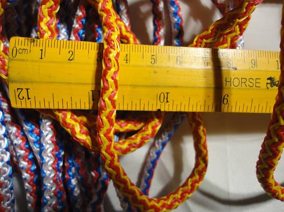 Сетка баскетбольная для баскетбольного кольца D.6,5мм. Элит, 1шт, фото 2