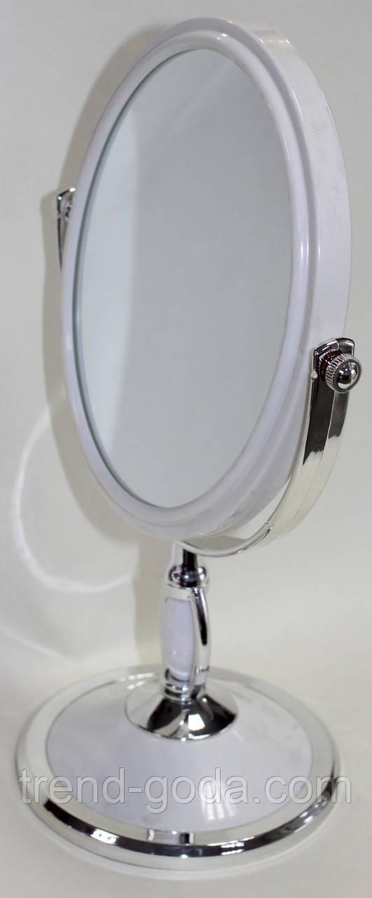 Зеркало на круглой подставке, овальное