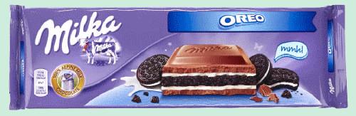 Шоколад Milka Oreo (с печеньем) 300 г Швейцария