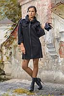 Пальто женское дизайнерское в 2х цветах Дасса, фото 1