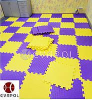 Мягкий пол пазл детский коврик Турция 1 элемент 500*500*10 мм