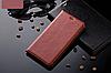 """HTC ONE M7 801 оригинальный кожаный чехол книжка из натуральной кожи магнитный противоударный """"BULL LEATHER"""", фото 6"""