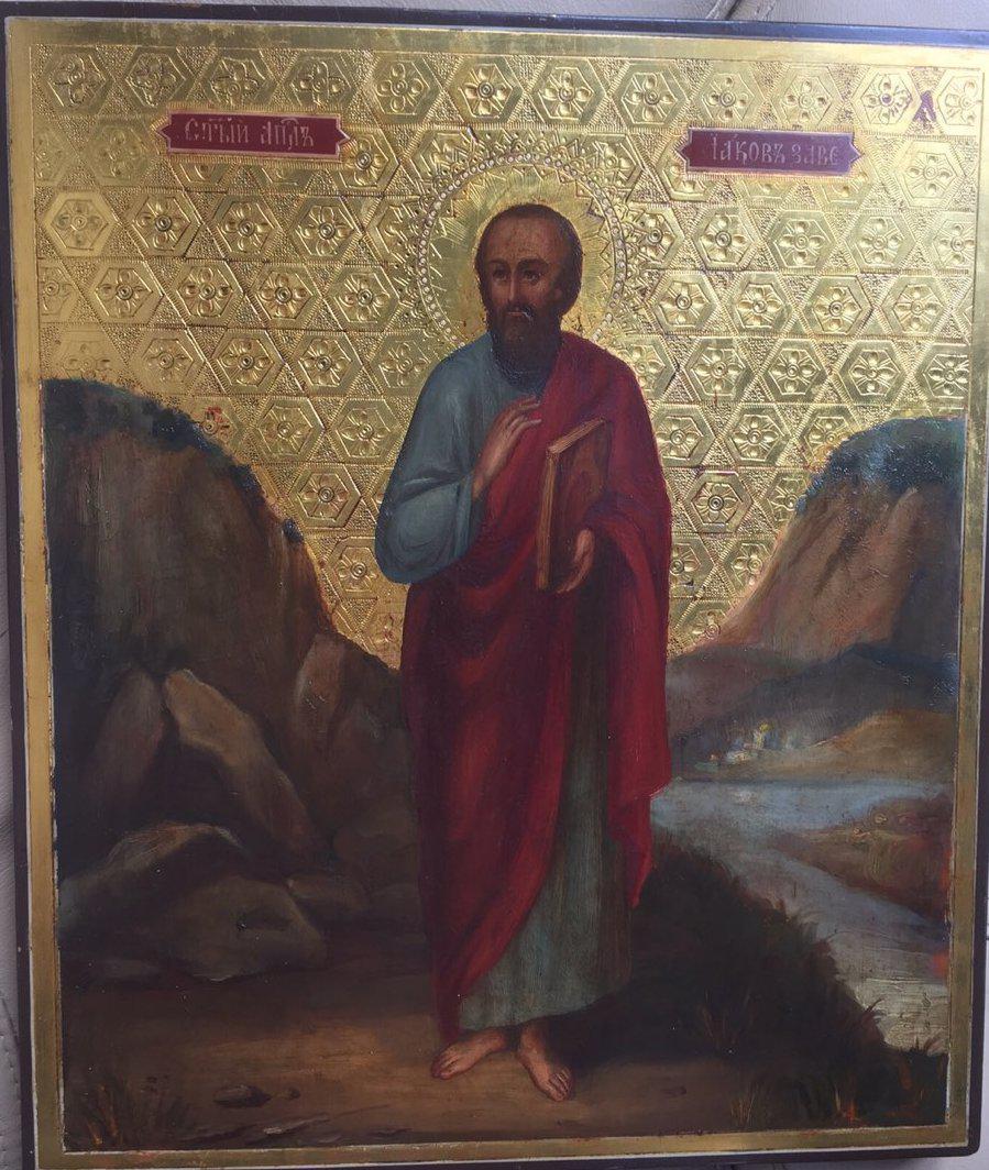 Икона Св.Иаков 19 век Россия