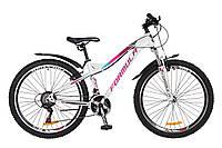 """Женский велосипед 26"""" Formula ELECTRA 2018 для подростков 12-15 лет ТМ Formula Бело-фиолетовый OPS-FR-26-221"""