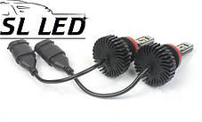 LED лампы в головной свет серии SX5  Цоколь H11/H8/H9, 25W, 3000 Люмен/Комплект, фото 3