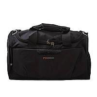 07314c1f4cf7 Дорожно-спортивная текстильная сумка на двух ручках NN B-NN10084 черная