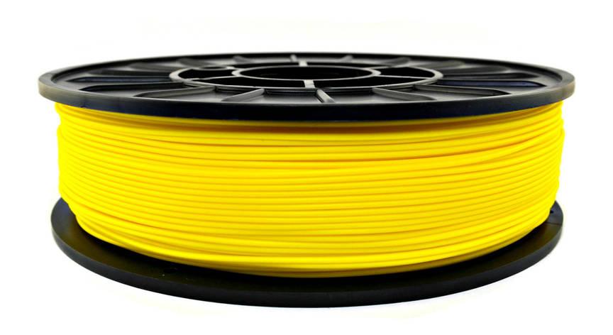 Желтый HIPs пластик для 3D печати (1,75 мм/0,75 кг), фото 2