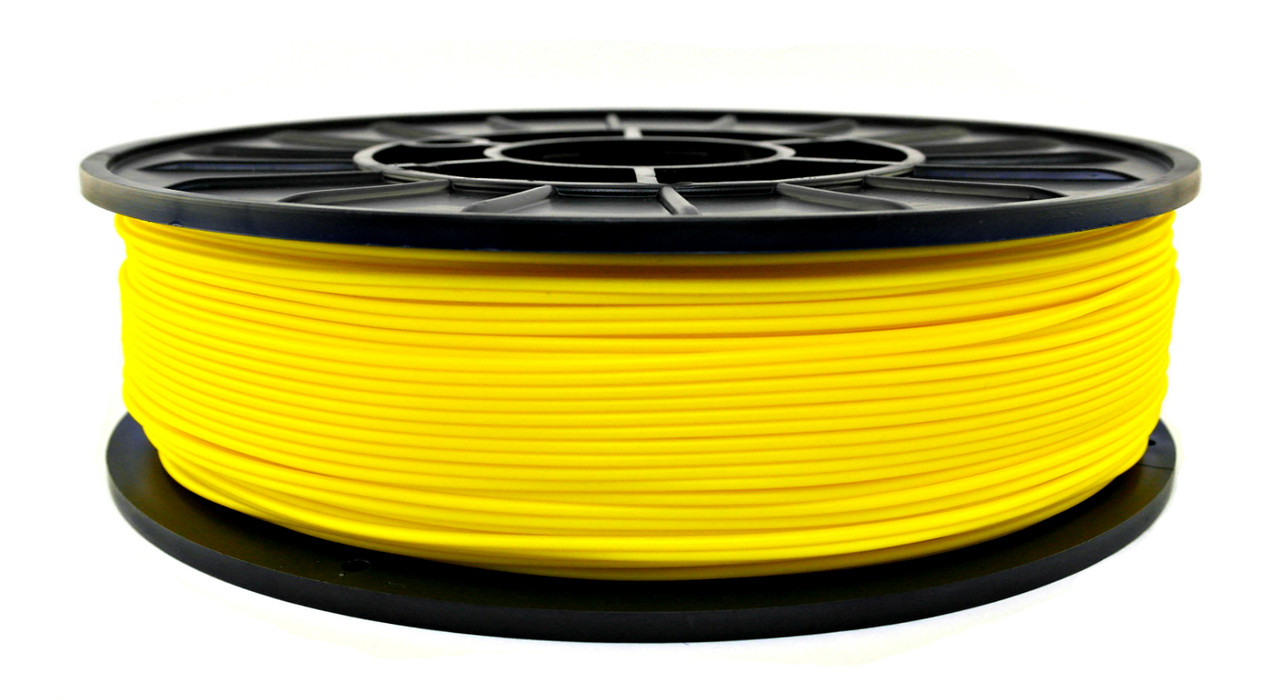 Желтый HIPs пластик для 3D печати (1.75 мм/0.75 кг)