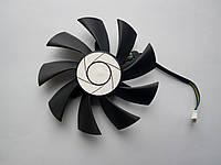 Вентилятор №81 (кулер) для видеокарты MSI PLA09215B12H GTX 1060 750ti 950 960 HA9015H12F-Z