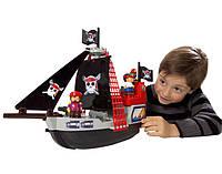 Конструктор Пиратский корабль с людьми, 29 элем.