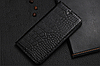 """HTC Desire 628 оригинальный кожаный чехол книжка из натуральной кожи магнитный противоударный """"CROCO GOLD"""", фото 7"""