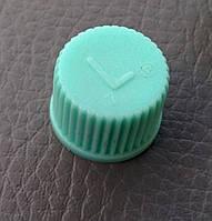 Крышка золотника кондиционера зеленая (ОЕ)