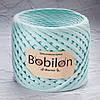 Трикотажная пряжа Bobilon Medium (7-9мм). Ментол