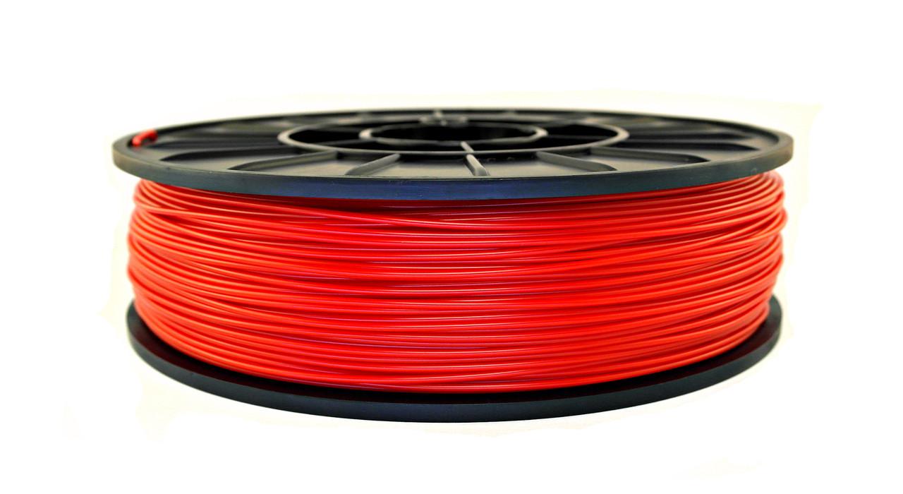 Нить ABS Premium (АБС) пластик для 3D принтера, Красный (1.75 мм/0.5 кг)