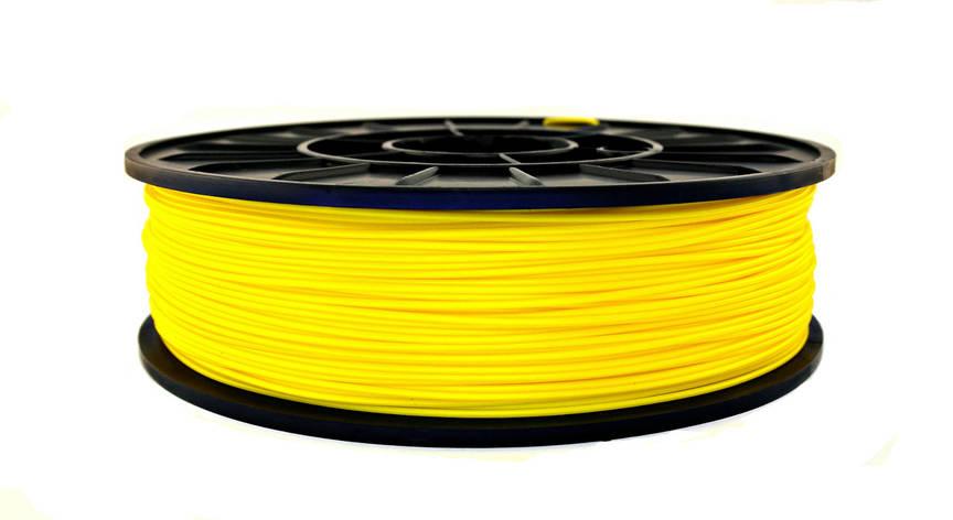 Нить ABS Premium (АБС) пластик для 3D принтера, Желтый (1.75 мм/0.75 кг), фото 2