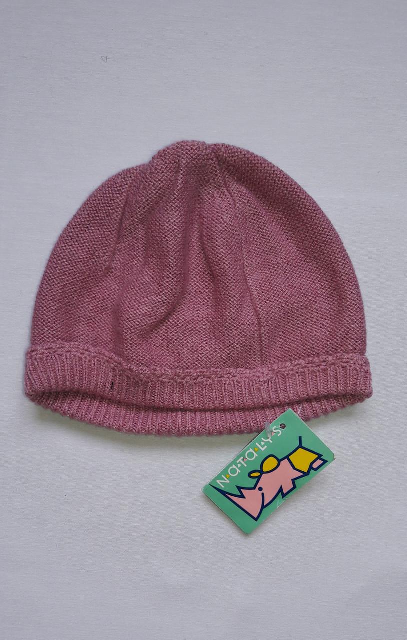 Шапочка для девочки Natalys розовая